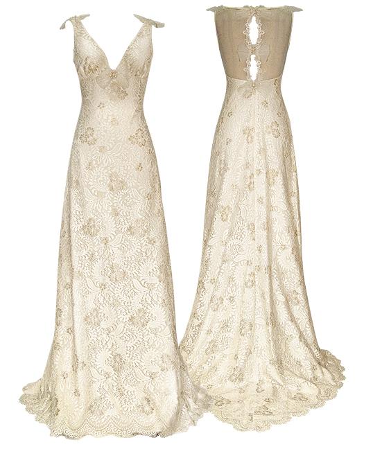 Vintage Wedding Gowns Uk: Claire Pettibone Couture Bridal