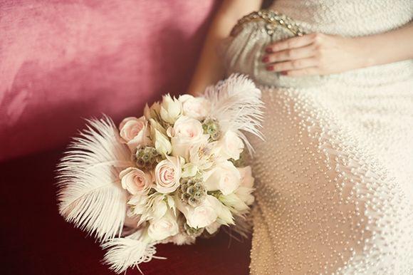 Great Gatsby Inspired Wedding Photoshoot - Photography by Sakura Photo...