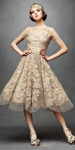 Anthropologie Vintage Wedding Dress