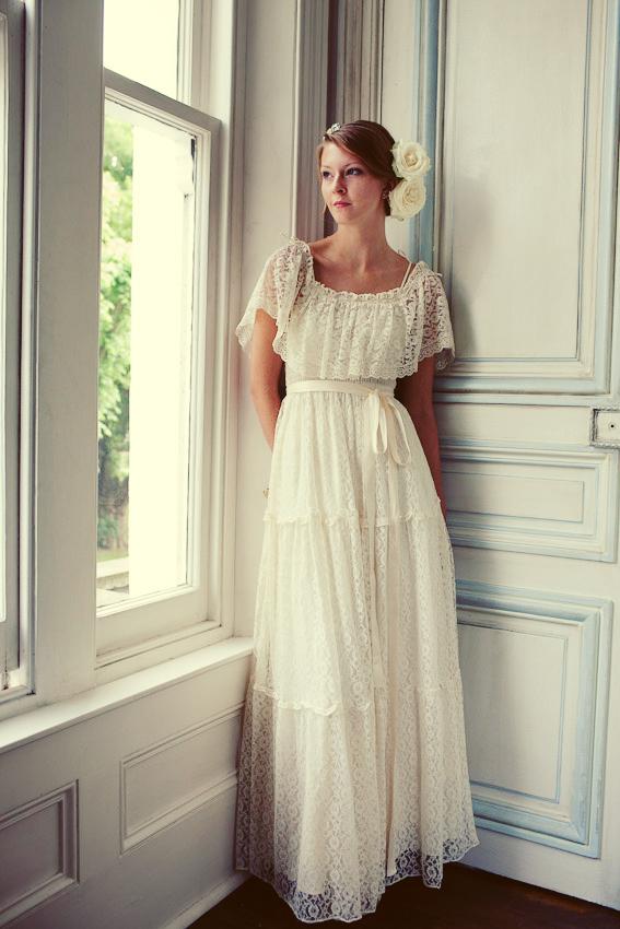 Vintage Lace Wedding Dresses\u2026