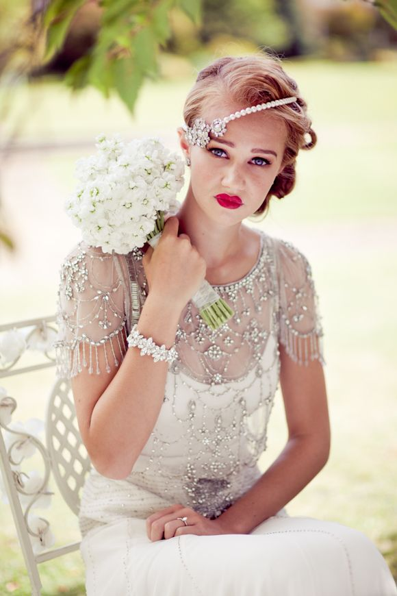 Jenny Packham 2012 Collection And Rosa Clara At Fetcham Park A
