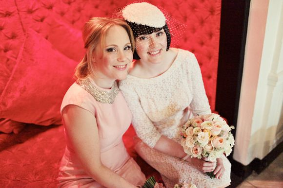 a8cb0d98b aafbcaadfb wi - White Tights and Peach Pretty ~ A 1960s Inspired Private  Members Club Wedding