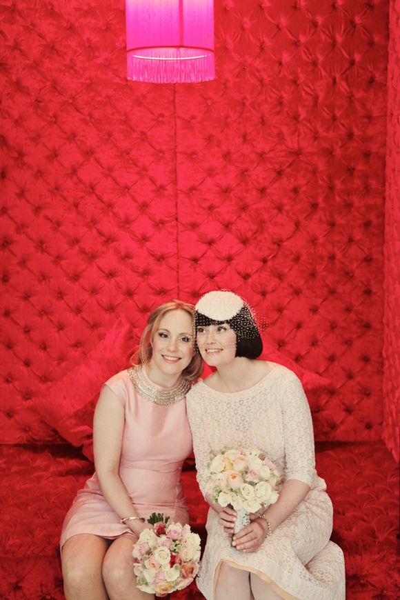 bba2dca49 aafbceac wi - White Tights and Peach Pretty ~ A 1960s Inspired Private  Members Club Wedding