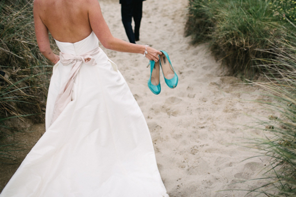 Jim Heljm Wedding Dresses.Blue Shoes Rustic Country Style And A Jim Hjelm Wedding