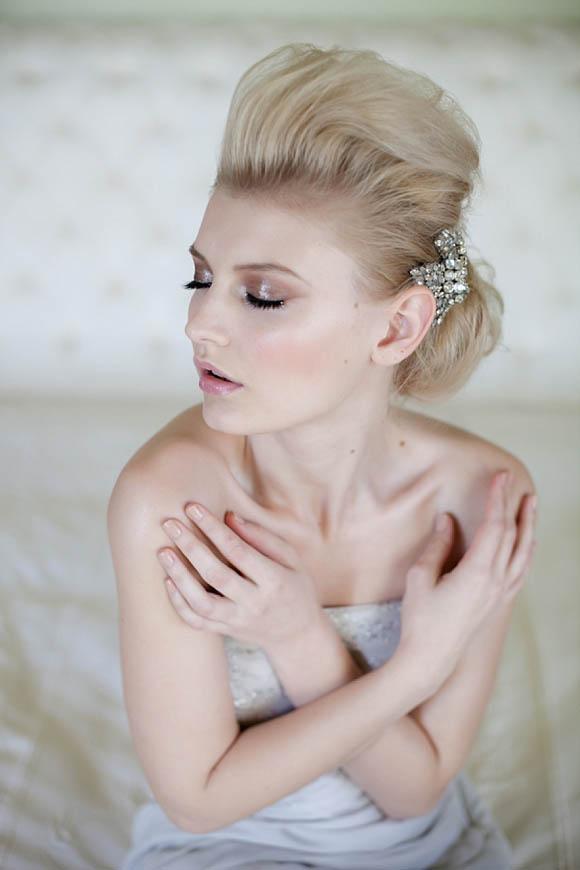 aafbcdddcc pi - Vintage, Glamorous and Romantic Wedding Hair and Makeup Inspiration