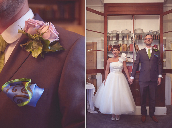 953c52df13 aafbceeacafbd pi - A One Shoulder Tea Length Justin Alexander Wedding Dress.