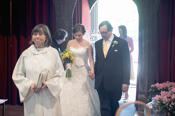 37ef68df2a aafbcbab pi - Delicate Lace By Justin Alexander For A Pretty Yellow Barn  Wedding