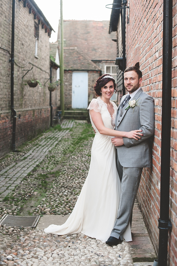 Aspen by Jenny Packham For A Vintage Inspired Wedding At The George ...