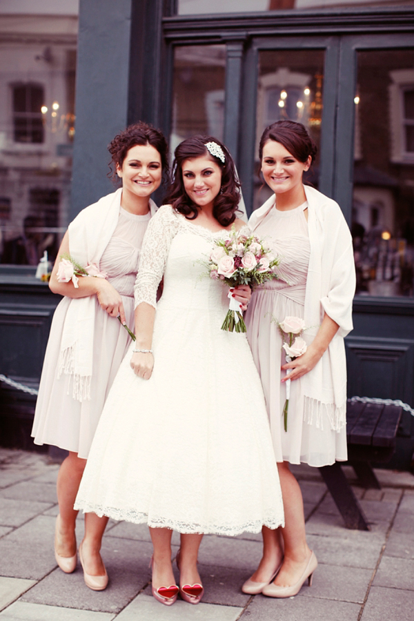 And Touch Of Vintage Elegance For A 1950s Retro Inspired Wedding