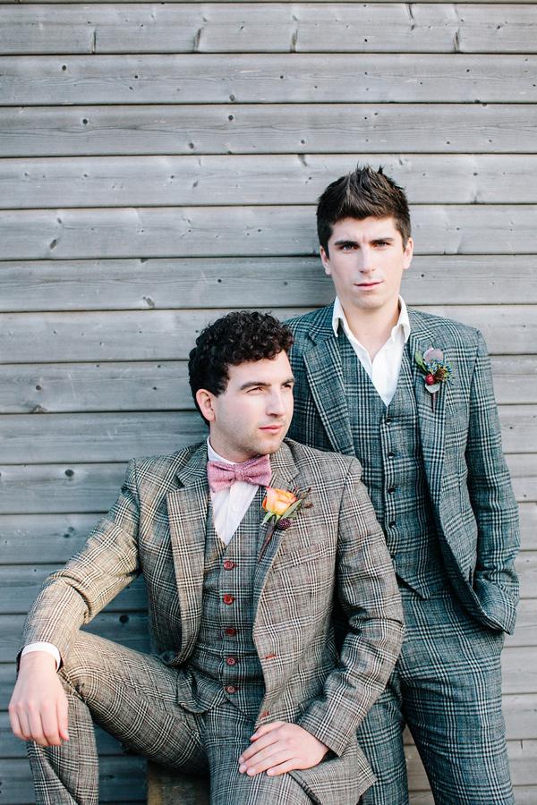 Gay wedding inspiration, Autumn wedding, outdoor wedding, wedding picnic, Styling by wedding planner Matthew Oliver, Photography by Hayley Savage