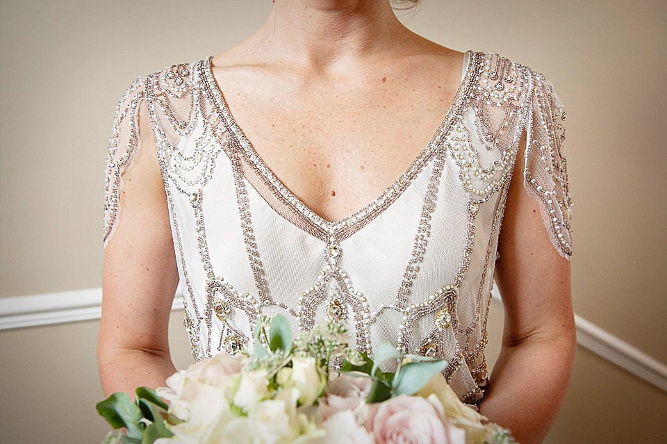 Eden by Jenny Packham for A 1920s Inspired and Intimate Country ...