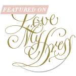 lmd featured a - Love My Dress Badges for your blog or website